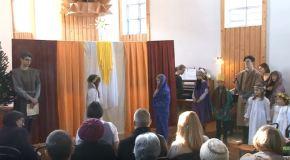 Betlehemes a vörösvári református templomban