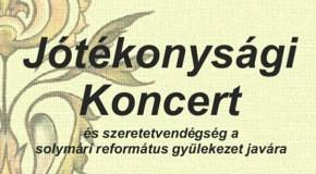 Jótékonysági koncert