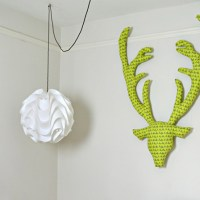 DIY Fabric Stags Head