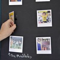 Photo Frame - Chalkboard Wall Display