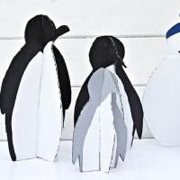 Fun DIY Christmas Decorations: Penguins