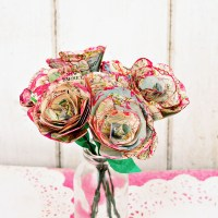 How to Make Simple but Beautiful Map Roses