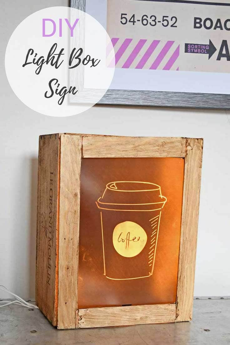 DIY Fun Light Box Sign
