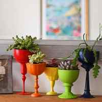 How To Make Repurposed Planters For Succulents