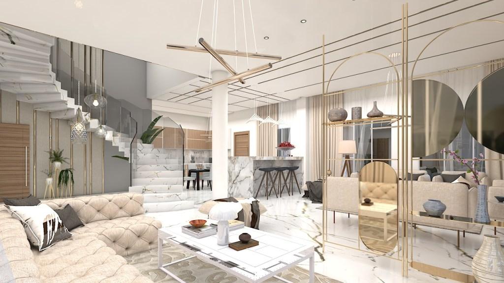 Luxurious Villa Design in Dubai