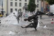 Fontaine en ville