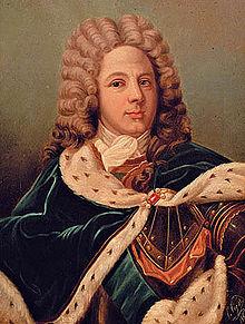 Ritratto di Louis de Rouvroy duca di Saint-Simon