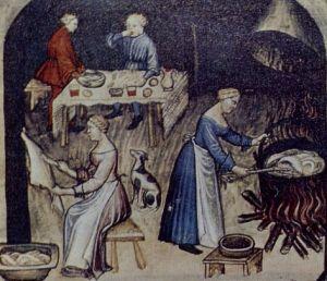 Cozinha na Idade Média