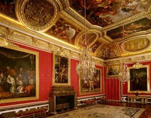 Interno della Reggia di Versailles-Salone di Marte