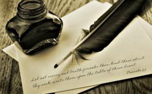 Penna e calamaio