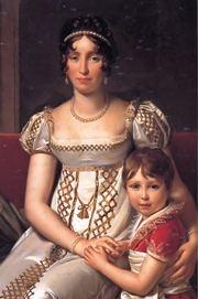 Ortensia Beauharnais con il piccolo Carlo Luigi, futuro Napoleone III