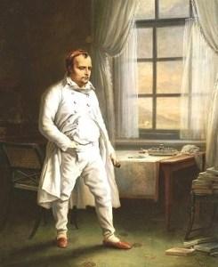 Napoleon Gefangene auf St. Helena