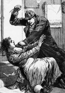 Jack lo Squartatore, illustrazione d'epoca