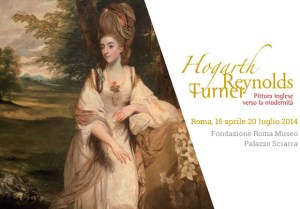 Show on the English eighteenth century in Rome