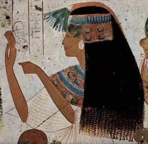 Una folta capigliatura femminile nell'Antico Egitto. I rimedi anticalvizie adoperati erano davvero stravaganti