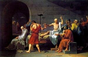 & Quot; muerte de Sócrates & quot;, Jacques-Louis David