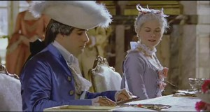 Luigi XVI a tavola (dal film Marie Antoinette). Il re aveva un appetito formidabile