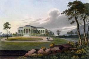 La residenza di Longwood House a Sant'Elena, dove Napoleone si spense il 5 Maggio 1821