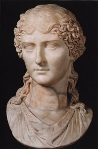 Bust of Agrippina the Younger, Nero's mother