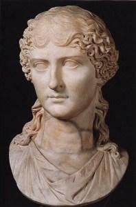 Busto de Agrippina o mais novo, A mãe de Nero