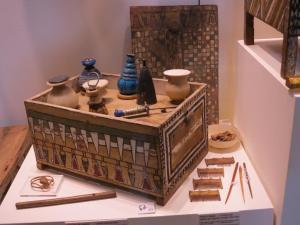 Il beauty-case di Merit conservato presso il Museo Egizio di Torino