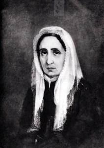 María Drago, madre de Giuseppe Mazzini. Pinturas de U.Borzino - Museo del Risorgimento - Génova