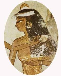 Donna egiziana. La bellezza femminile iniziava da una pelle perfetta