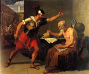 Das Töten von Archimedes D. Udine (1815) - Rovereto (Fotos Pressestelle Mart)