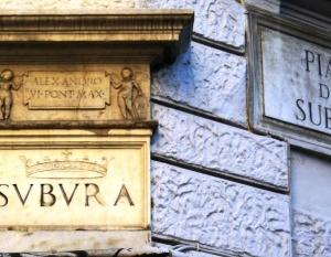 """Attuale localizzazione della Suburra, il quartiere """"a luci rosse"""" dell'Antica Roma"""