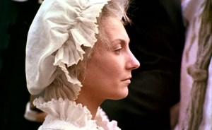 "Ute Lemper nella parte di Maria Antonietta nel film ""L'Autrichienne"" (1990)"