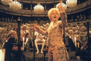 Mozart suffered from Tourette's Syndrome? (scene from the movie & quot; Amadeus & quot;)