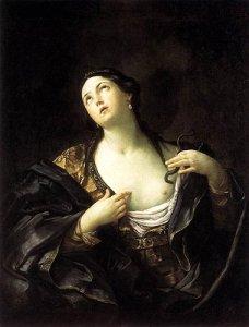 La morte di Cleopatra secondo Guido Reni