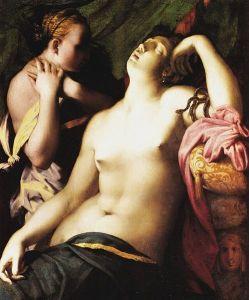 La muerte de Cleopatra segundo florentina Rosso