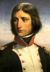 Un joven Napoleón Bonaparte