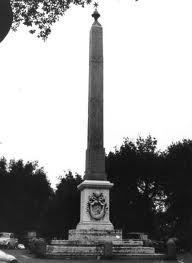 The Barberini obelisk at the Pincio, closely linked to the tomb of Antinous