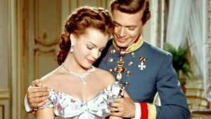 A scene from the television film dedicated to Princess Sissi