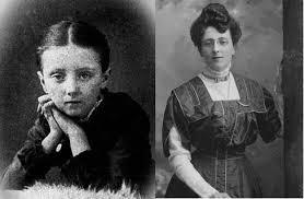 Lucy Maud Montgomery als Kind und als Erwachsener