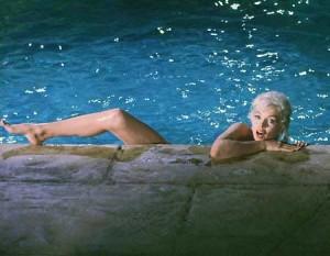 Marilyn Monroe nella scena più famosa del suo ultimo film, rimasto incompiuto