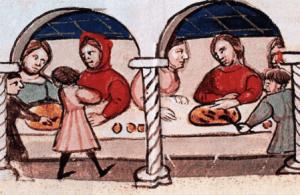 Ein mittelalterliches Abendessen