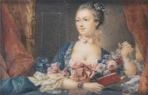 Retrato de Madame de Pompadour