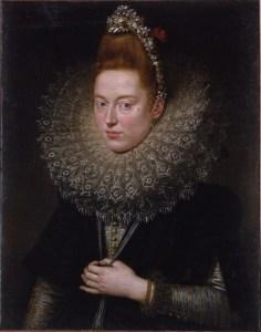 Ritratto di dama del '600 (Rubens). Per diventare bionde (o rosse), le signore dell'epoca usavano anche l'urina