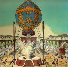 Der Ballon in Paris in 1783