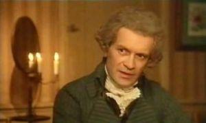"""Maximilien Robespierre nel film """"La rivoluzione francese"""" (1989)"""