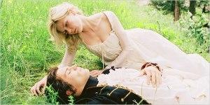 """Maria Antonietta (Kirsten Dunst) e Fersen (Jamie Dornan) in """"Marie Antoinette"""" (2006)"""