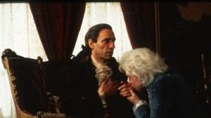 "Mozart e Salieri nel celebre film ""Amadeus"""