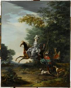 Maria Antonietta a caccia