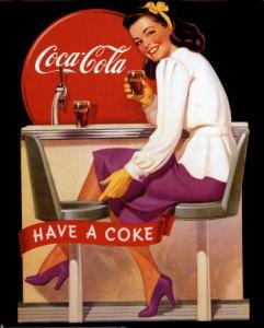 """Pubblicità """"vintage"""" della Coca-Cola"""