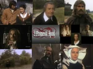 """Poster do drama de TV Salvatore Nocita & quot; Os noivos"""" (1989)"""