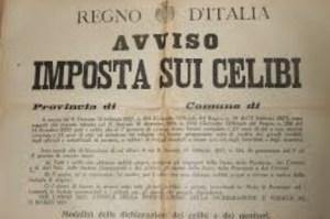 Texto del impuesto sobre el celibato (1927)