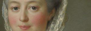 The beautiful face of Madame de Pompadour